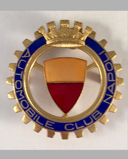 Automobile Club Napoli (Italy) car grill badge