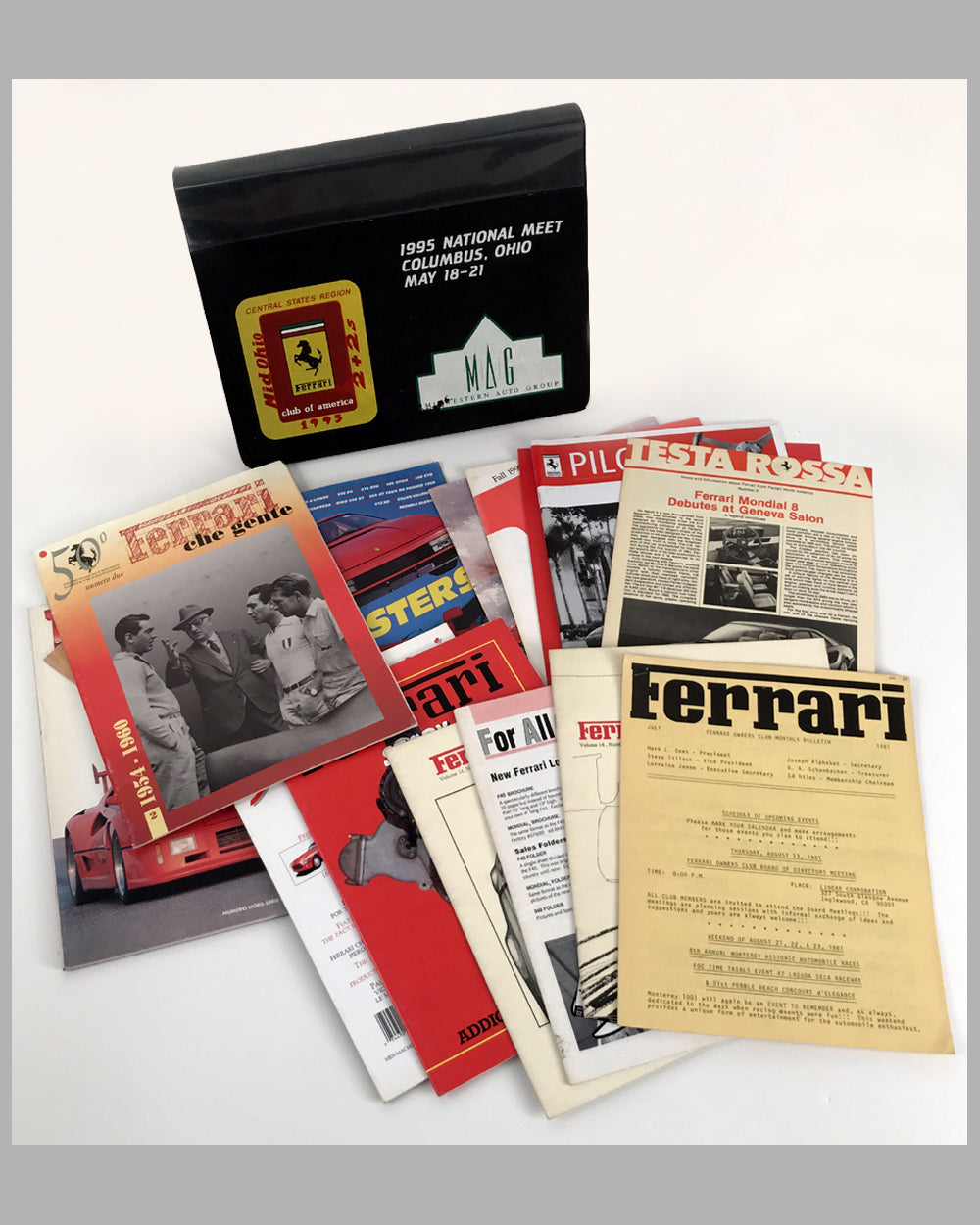 Ferrari Publications collection of 17 items