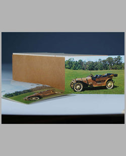 1911 Mercer 30M Toy Tonneau postcards