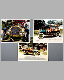 Three 1911 Thomas Flyer color photographs