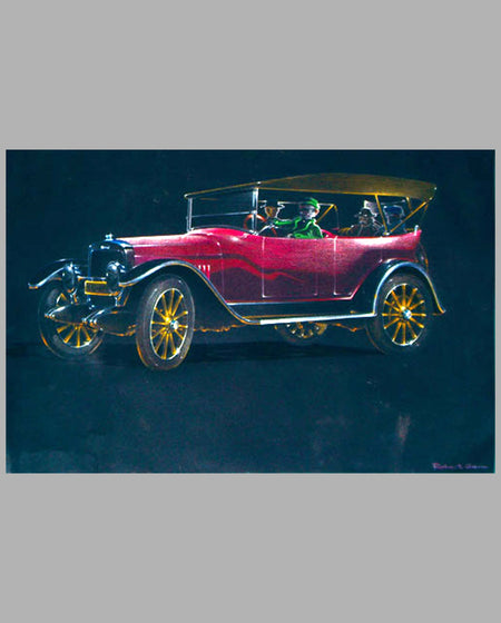 1920's Phaeton drawing by Robert Genn