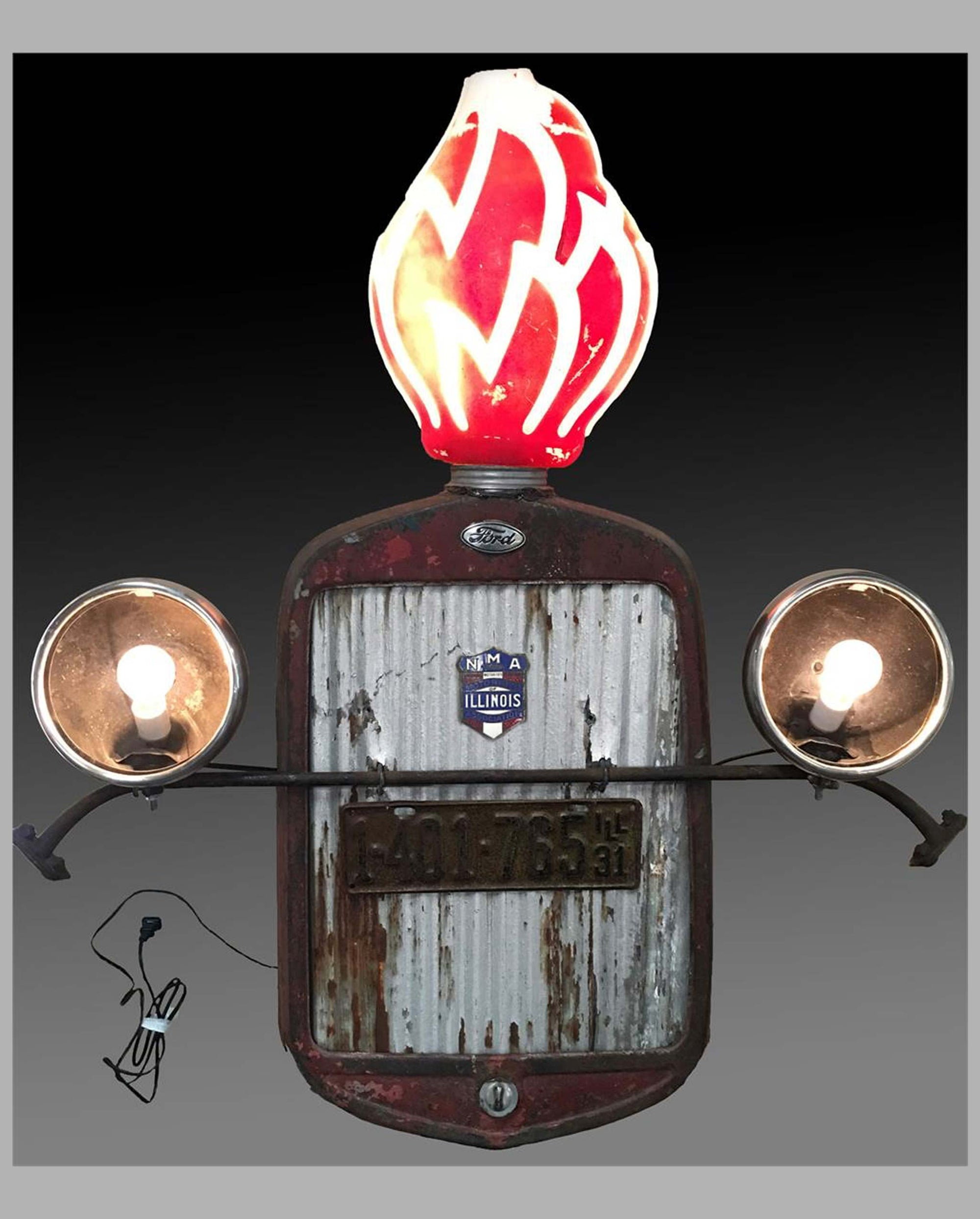 1930's Ford Model A grill light