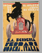 Il Quarto Anno Di Corse, 1933 Scuderia Ferrari Yearbook Reproduction