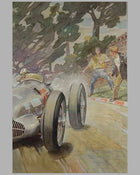 1938 Coppa Acerbo painting by Louis Huber 3