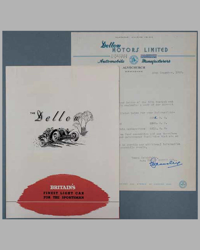 1950 Dellow Motors Limited sales brochure