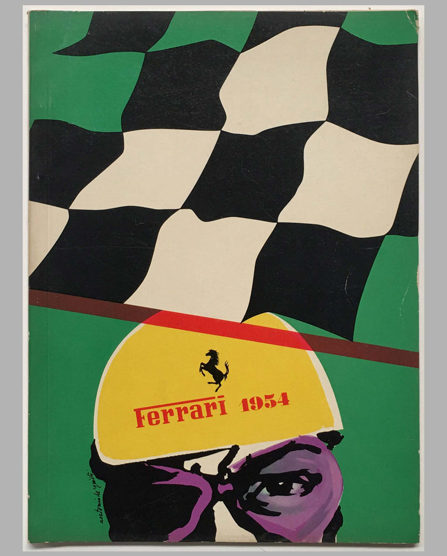 Ferrari yearbook 1954, factory original cover