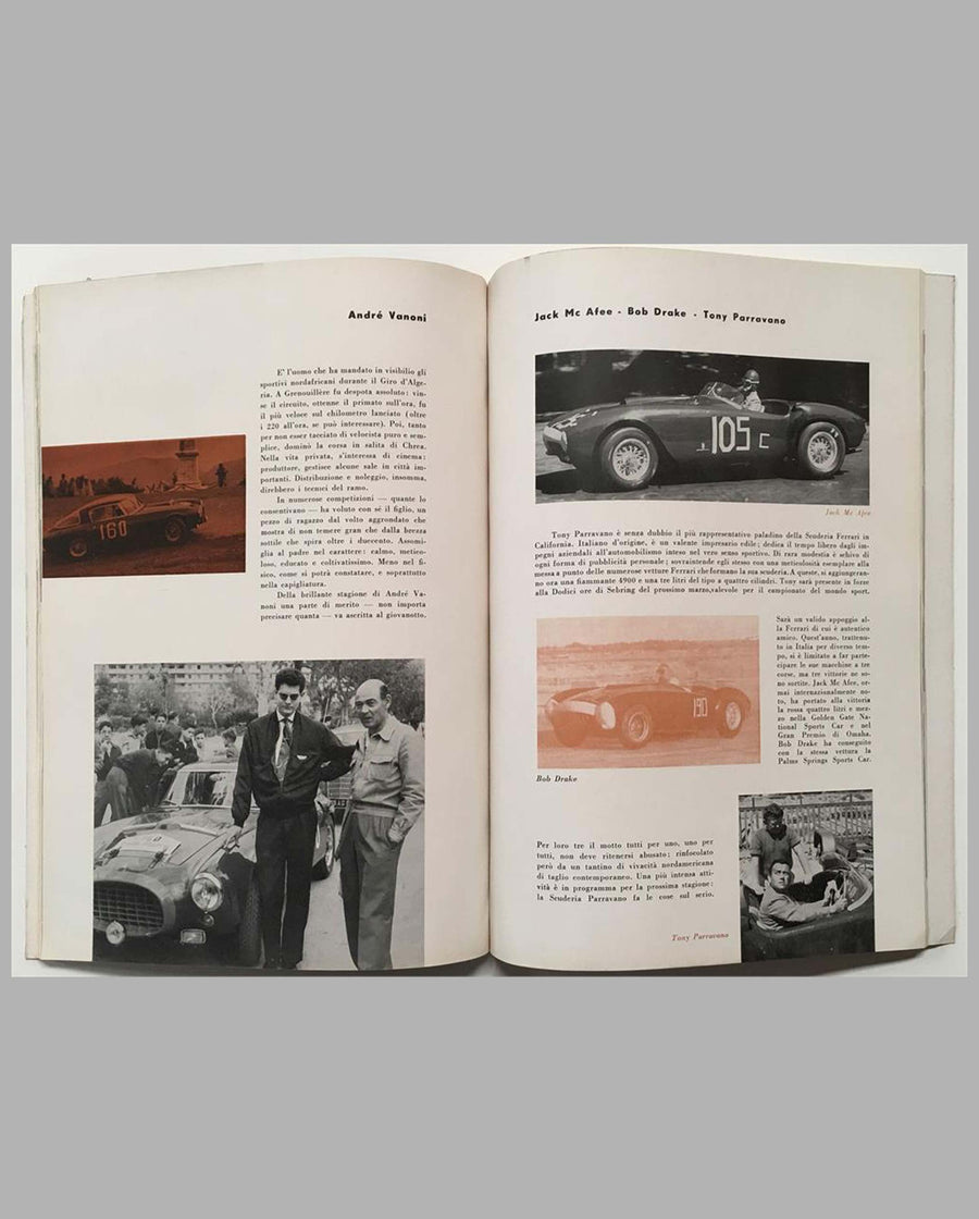Ferrari yearbook 1954, factory original interior