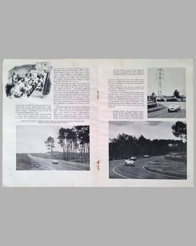 Le Mans 1954 book compiled by the staff of The Motor Magazine 7
