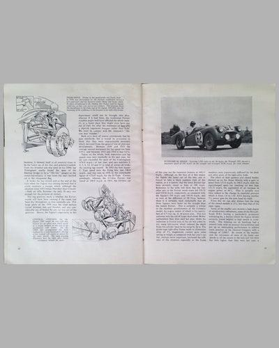 Le Mans 1954 book compiled by the staff of The Motor Magazine 8