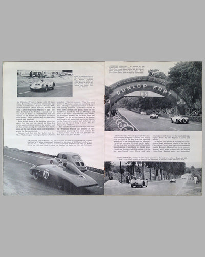 Le Mans 1954 book compiled by the staff of The Motor Magazine 9