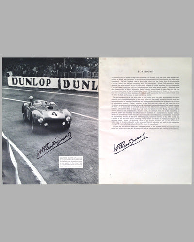 Le Mans 1954 book compiled by the staff of The Motor Magazine 10