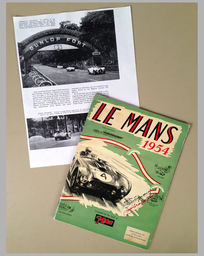 Le Mans 1954 book compiled by the staff of The Motor Magazine 3