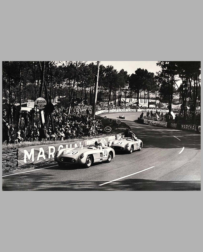 24 Hours of Le Mans 1955 large photograph