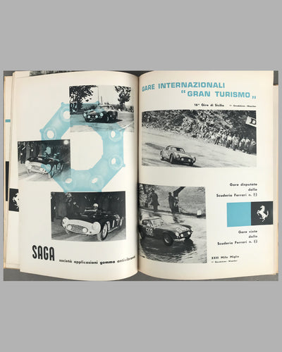 1956 original Ferrari Yearbook 3
