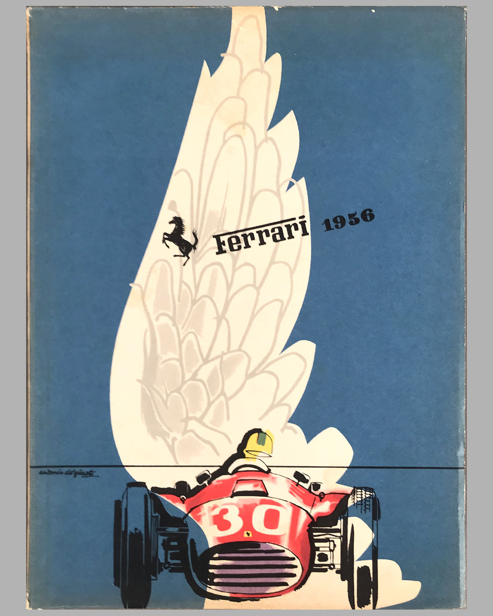1956 original Ferrari Yearbook