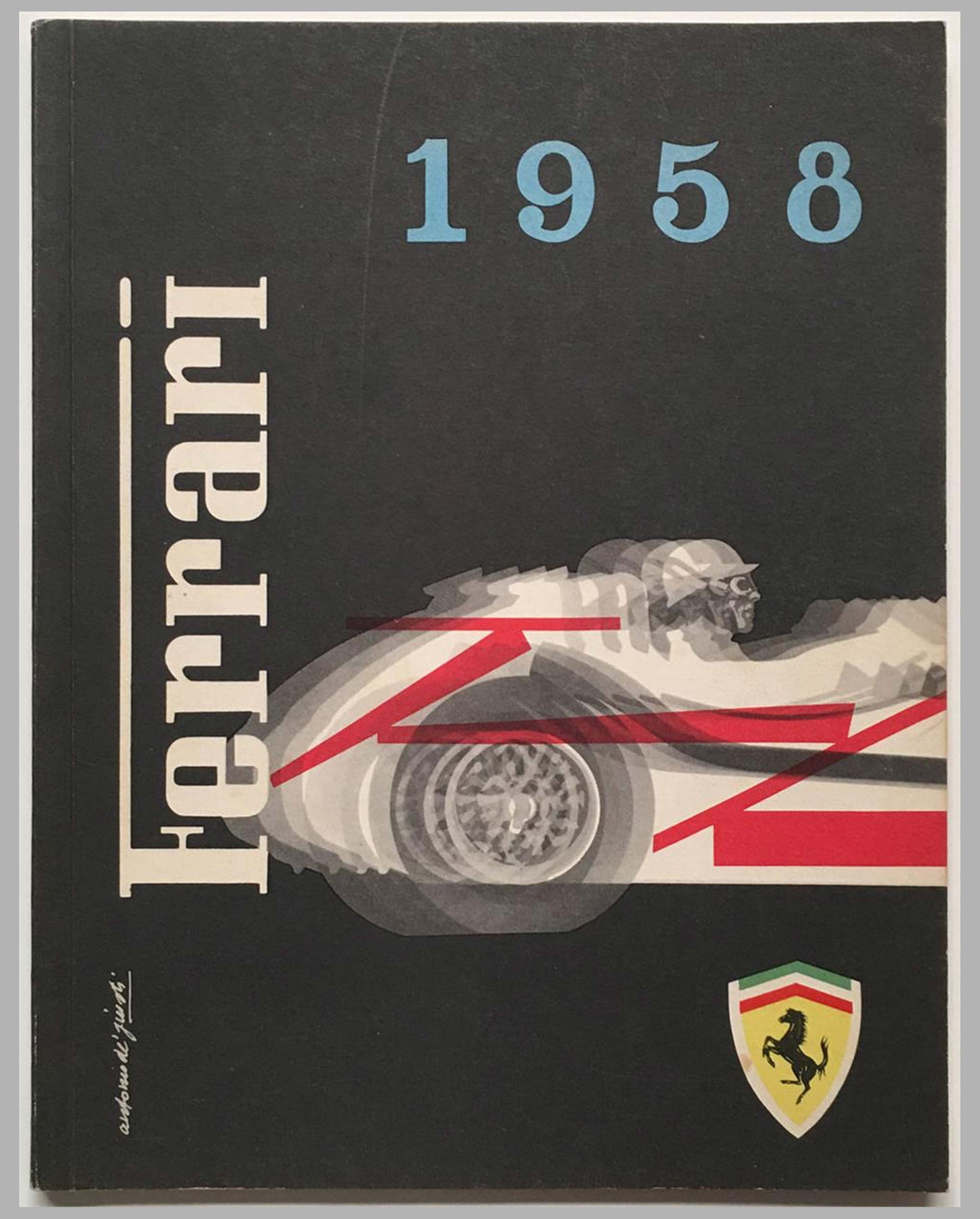 Ferrari yearbook 1958, factory original cover