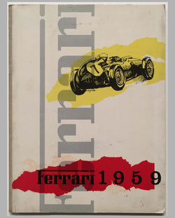 Ferrari yearbook 1959, factory original cover