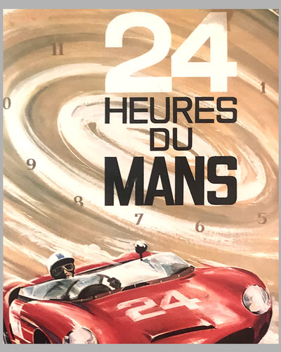 1963 - 24 Hours of Le Mans original poster by G. Leygnac 2