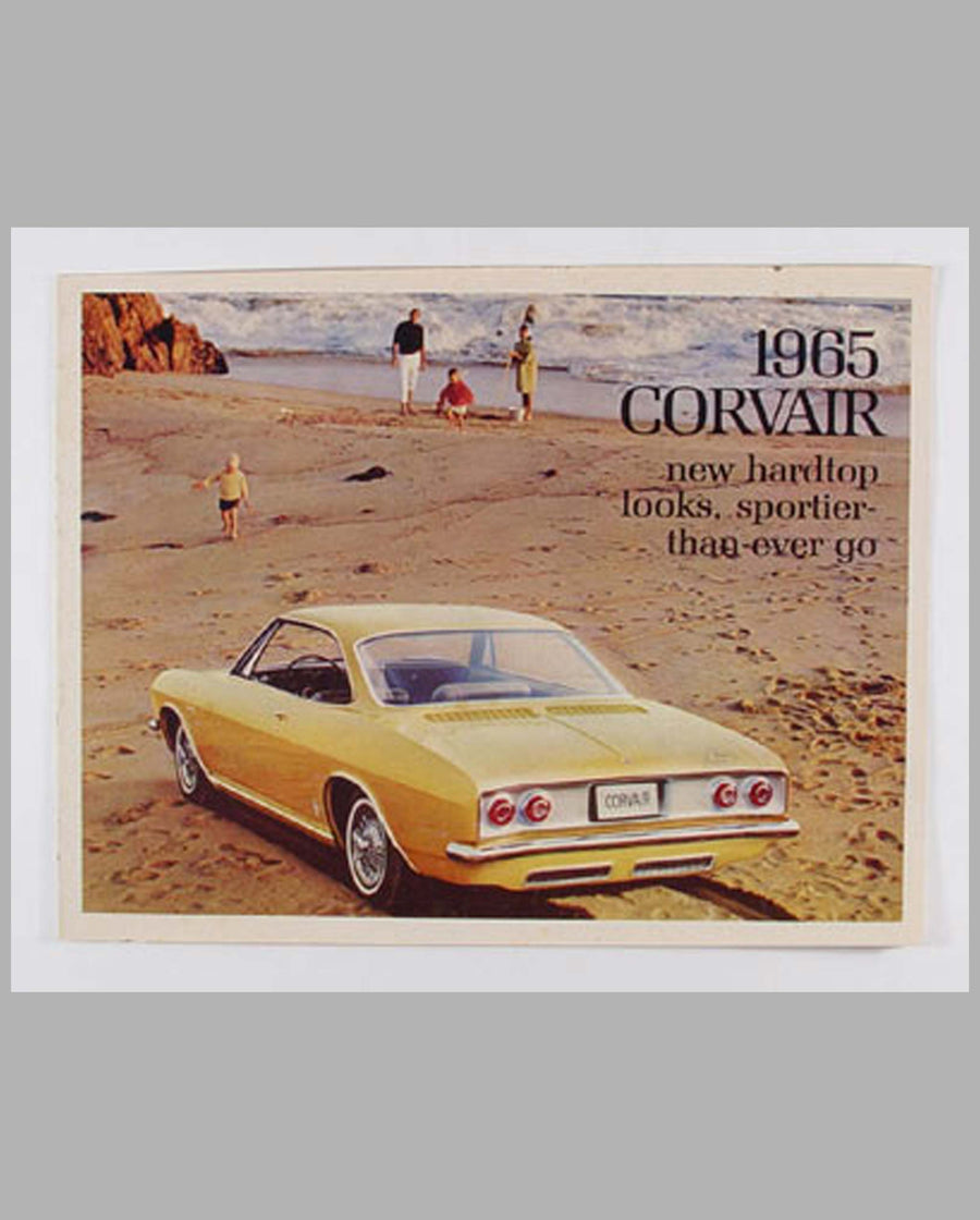 1965 Chevrolet Corvair color sales folder