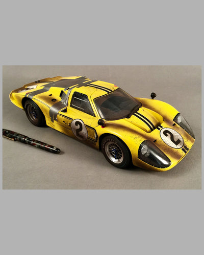 1967 Ford GT40 Mk IV GMP model, Front View