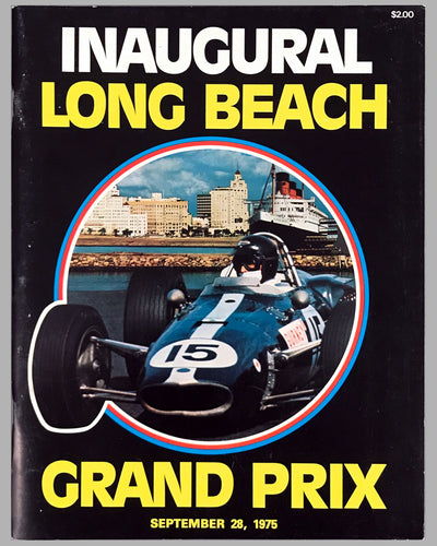 Inaugural Long Beach Grand Prix program, 1975