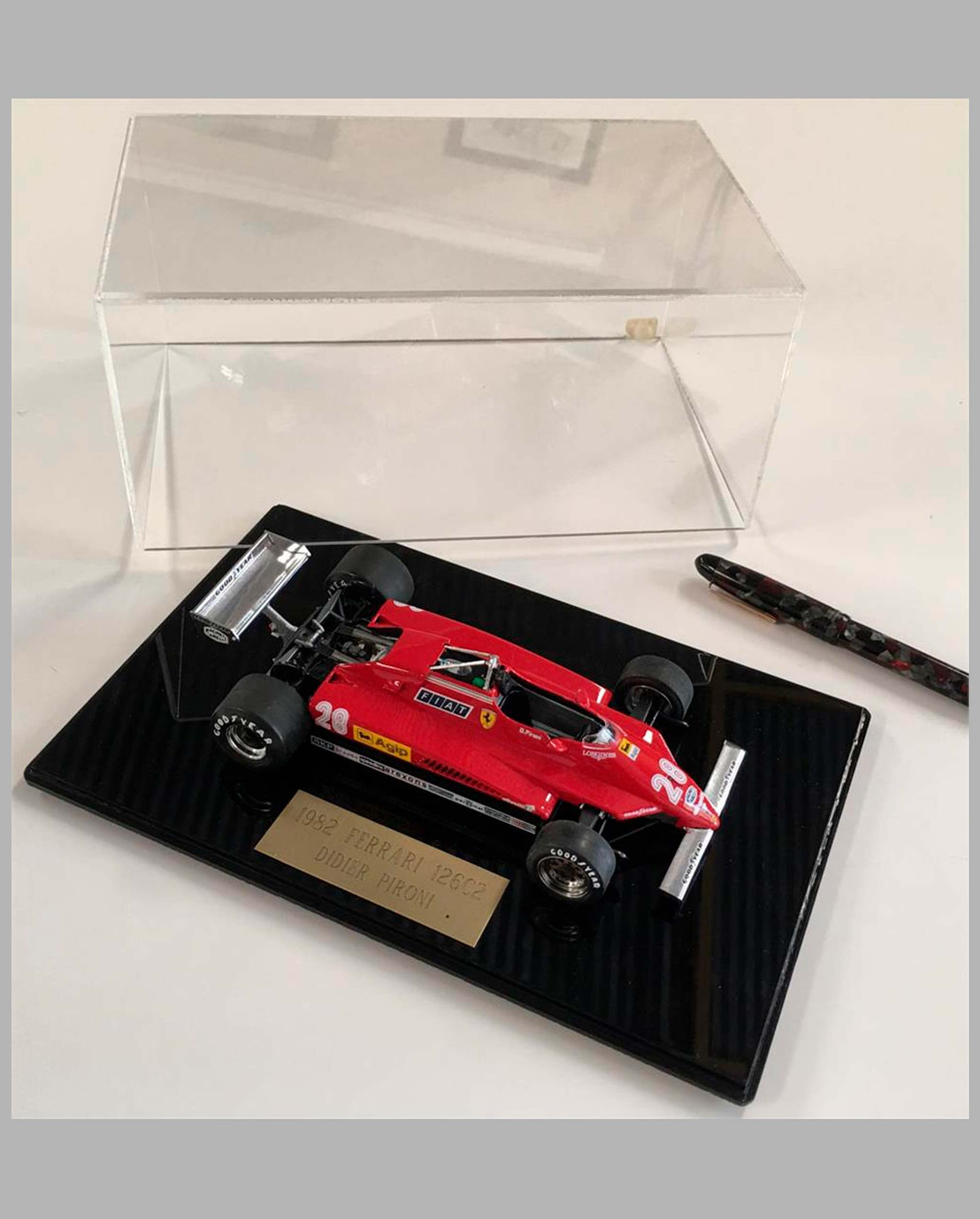 1982 Ferrari 126C2 hand built model by Jeff Alderman