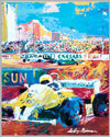 1982 Caesars Palace Grand Prix of Las Vegas original poster by LeRoy Neiman 2