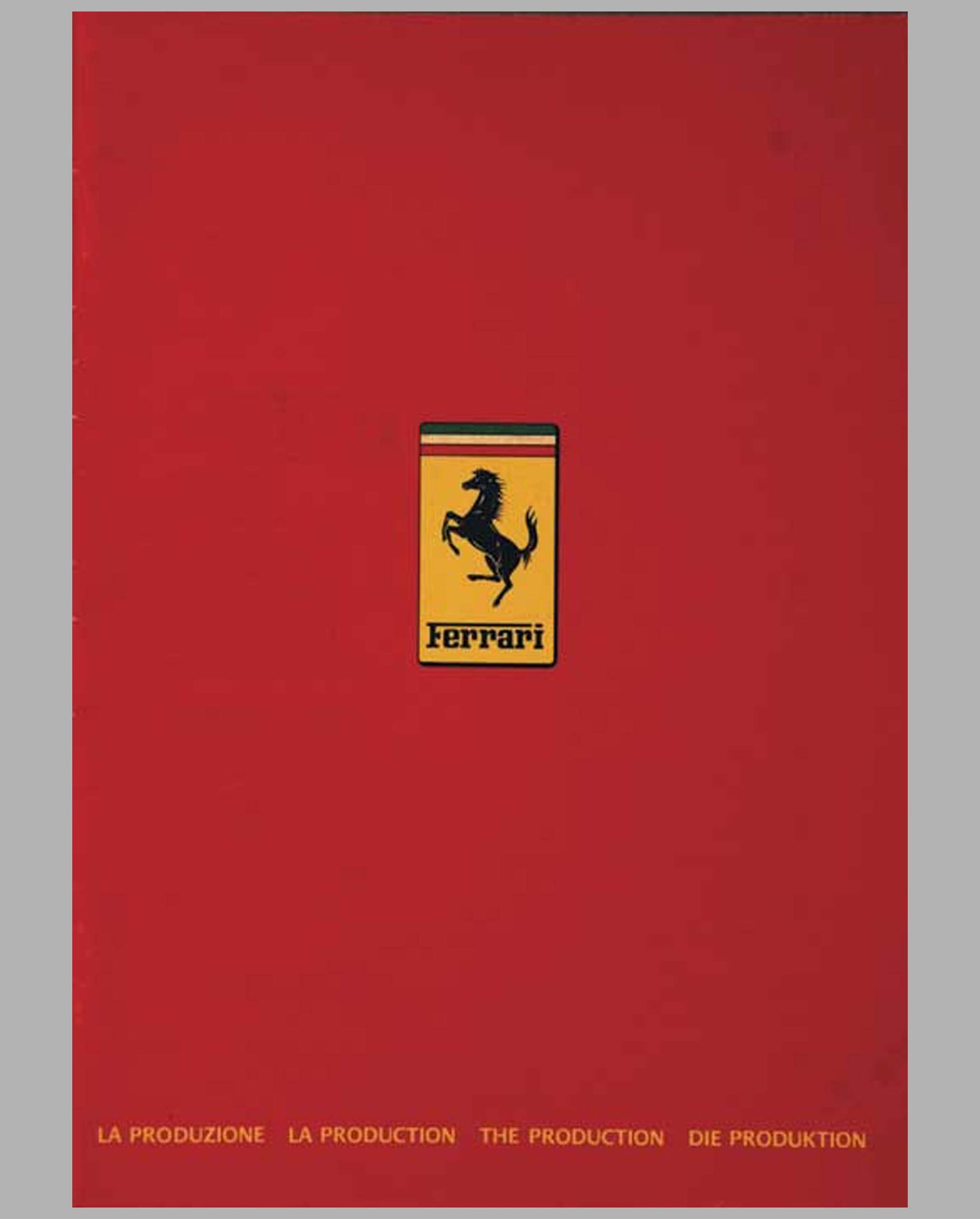1983 Ferrari - The Production Sales Catalog