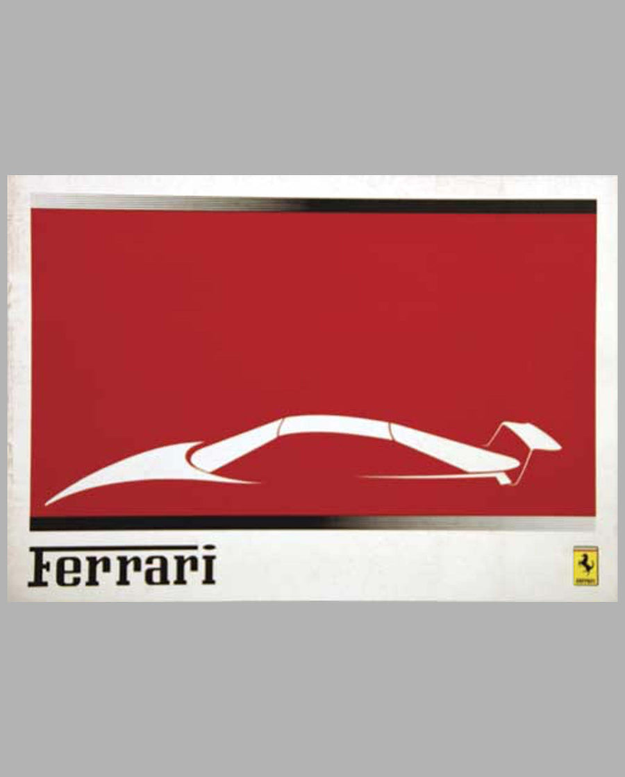 1988 Ferrari Sales Album Published by Pozzi