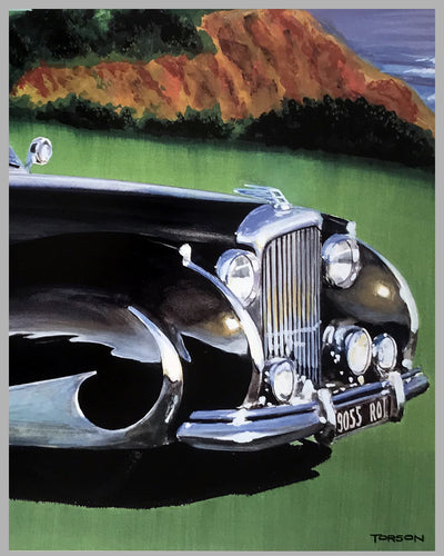 21st Santa Barbara Concours d' Elegance poster by Torson 2