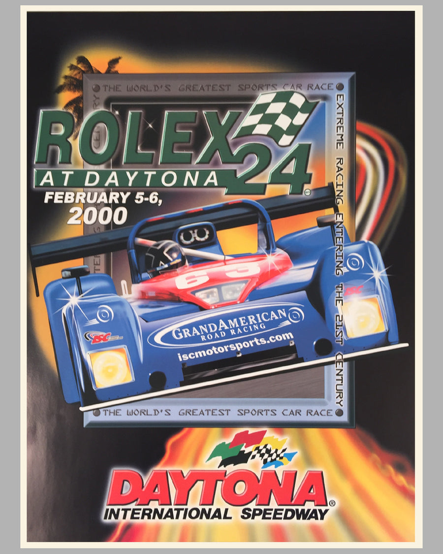 2000 Rolex 24 at Daytona official poster