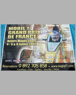 GP of France 2003 Billboard size poster
