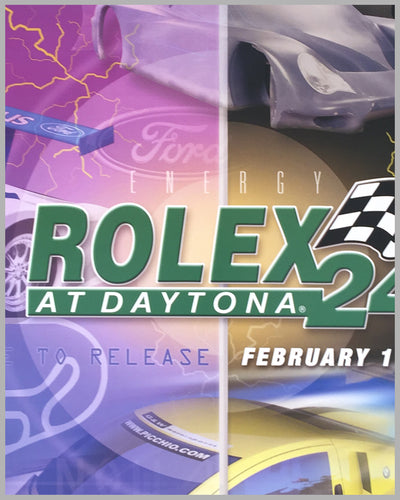 2003 Rolex 24 at Daytona poster 2