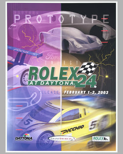 2003 Rolex 24 at Daytona poster