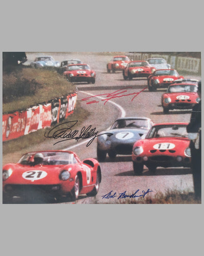 1964 24 Hours of Le Mans poster 2