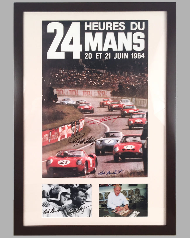 1964 24 Hours of Le Mans poster