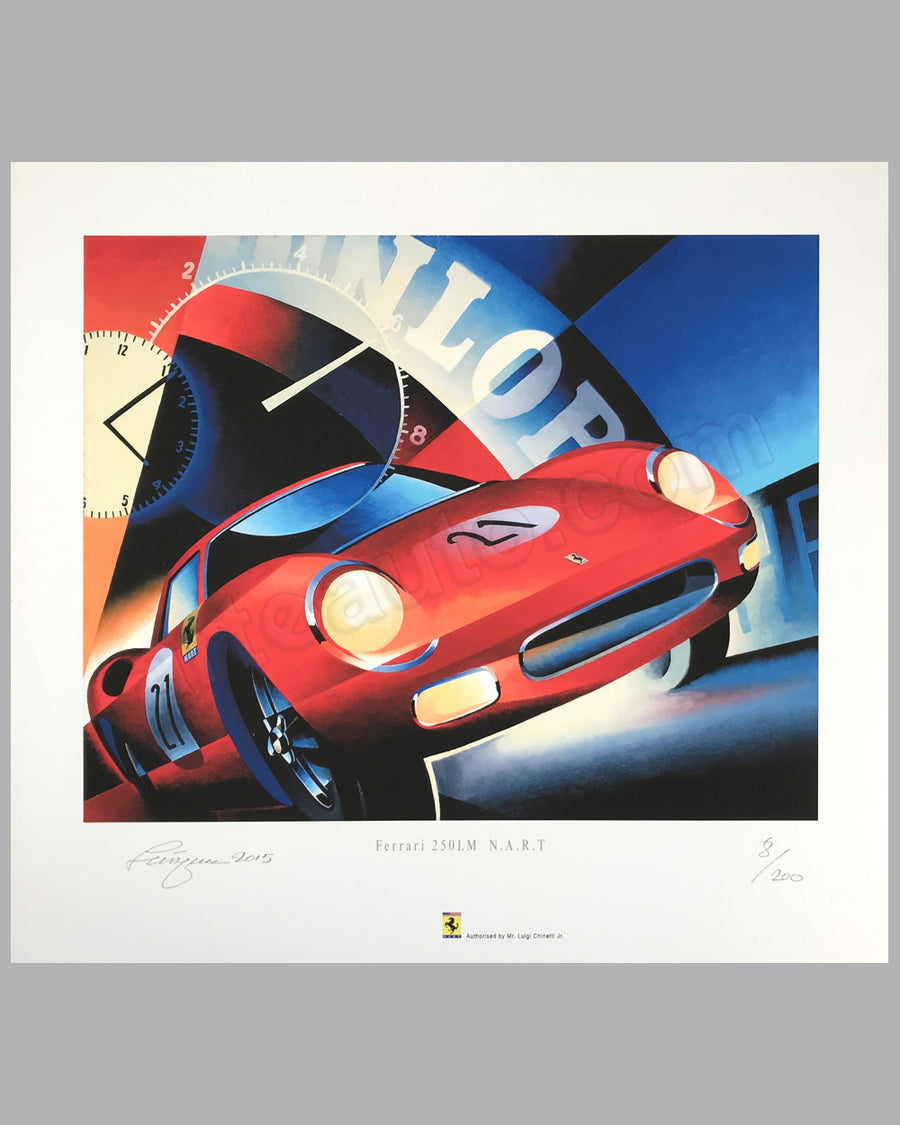 250 LM NART giclée on paper by Alain Lévesque