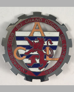Automobile Club de Luxembourg car grill badge