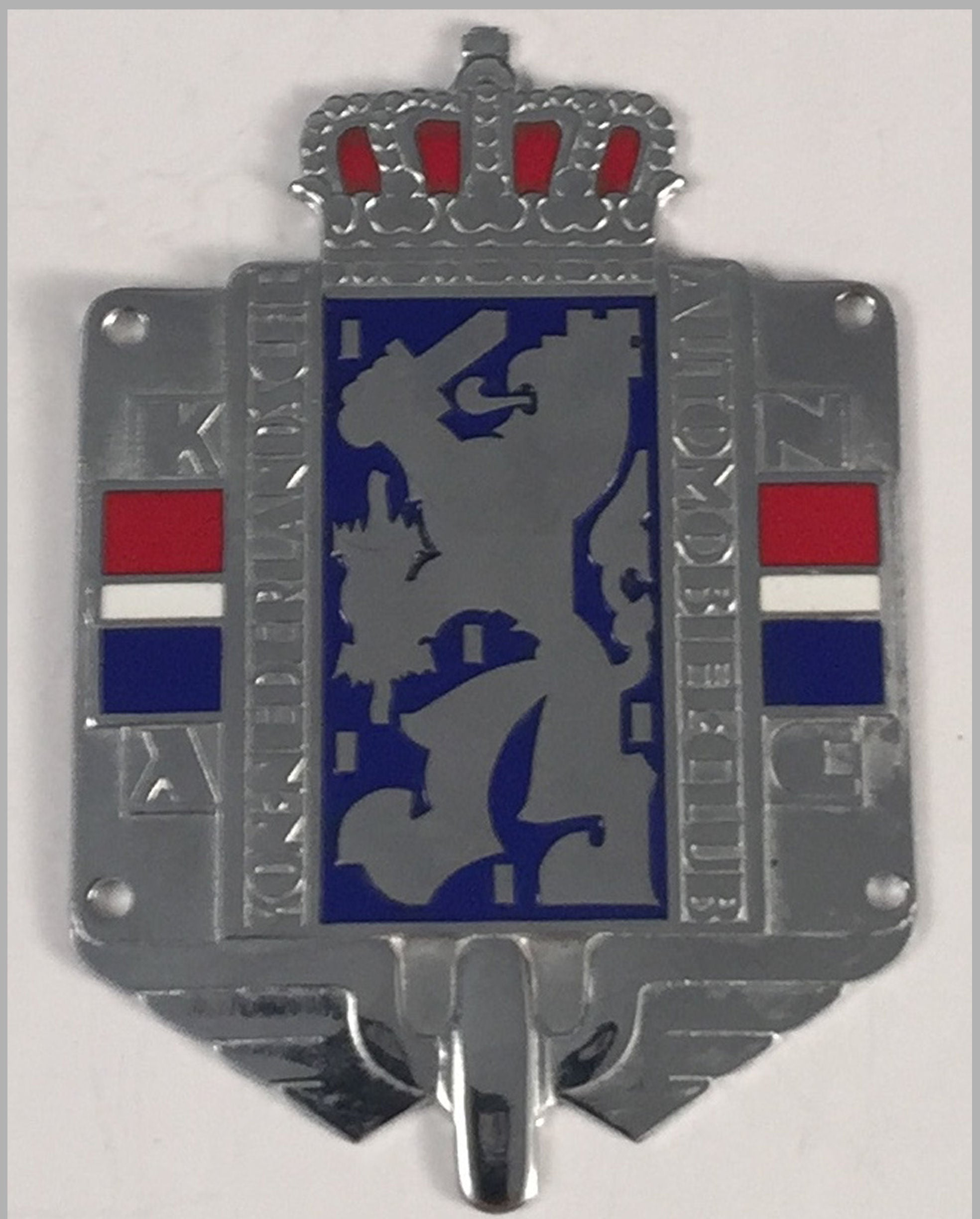 Automobile Club of Netherlands car grill or dashboard badge