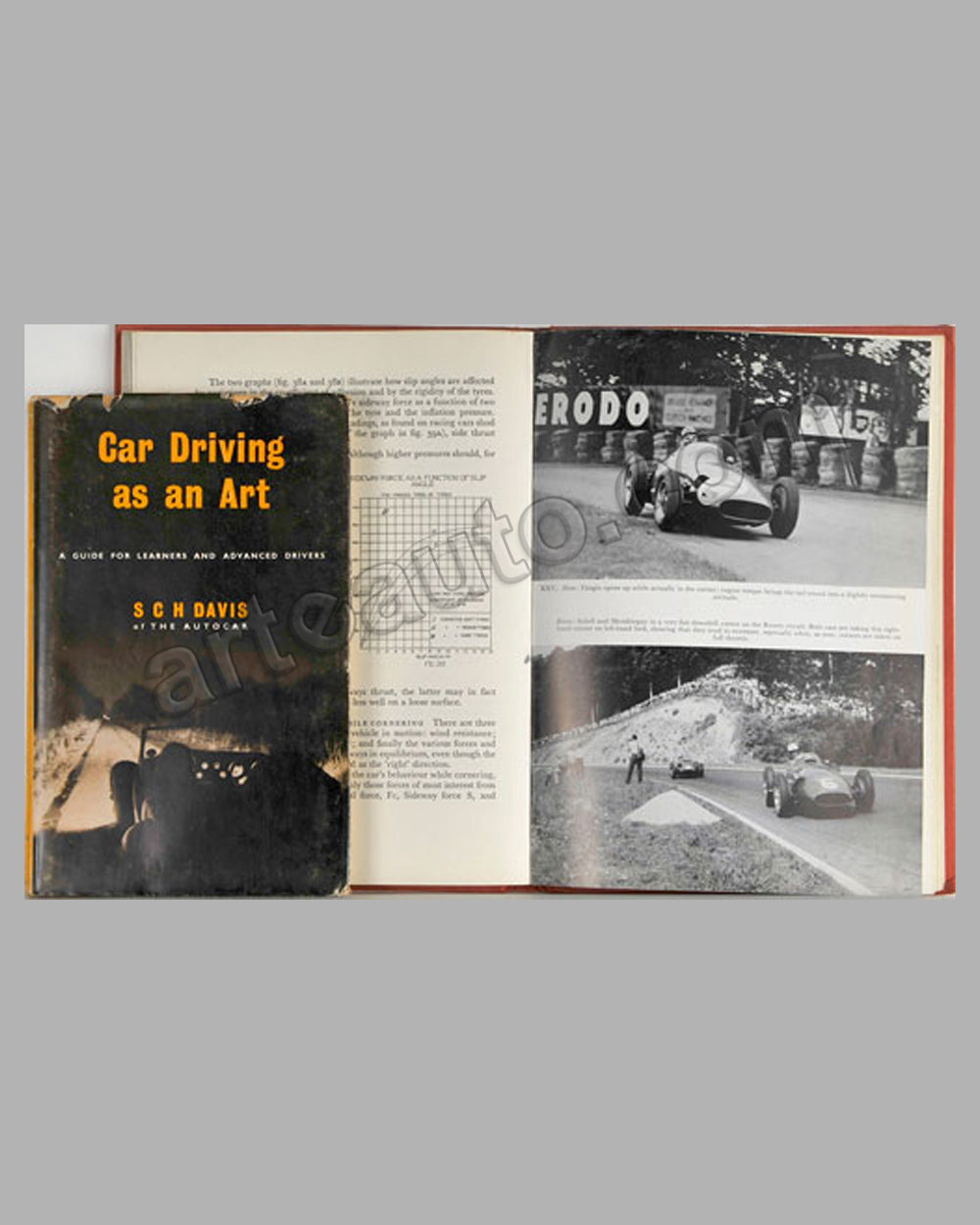 Two Driver's Training books, Car Driving as an Art , The Technique of Motor Racing