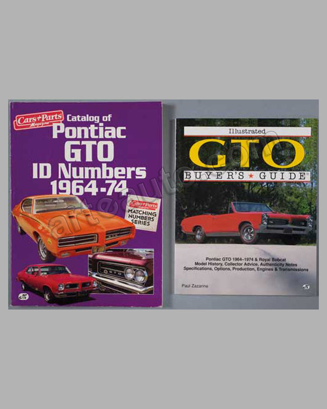Two Pontiac books