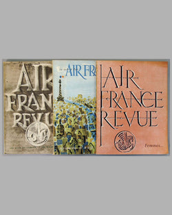 Three Air France Revue magazines