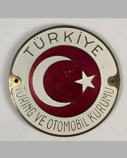 Touring and Automobile Club of Turkey car grill badge