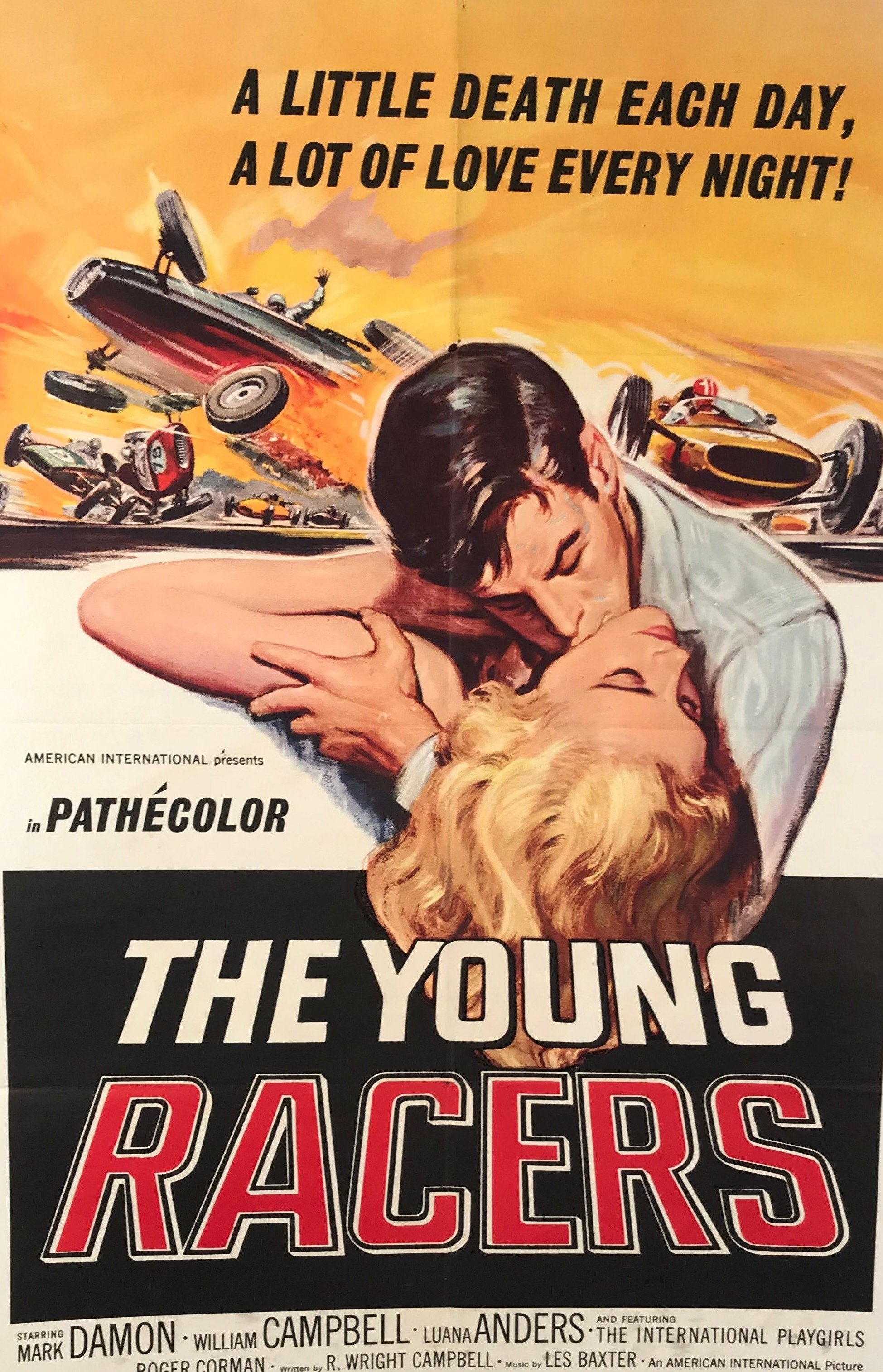 The Young Racers original movie poster