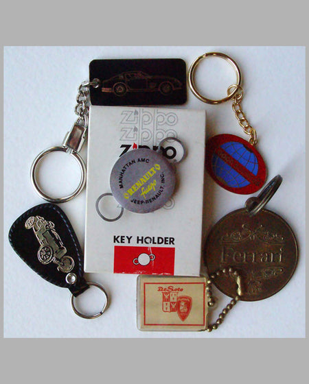 Six Advertising Key Fobs