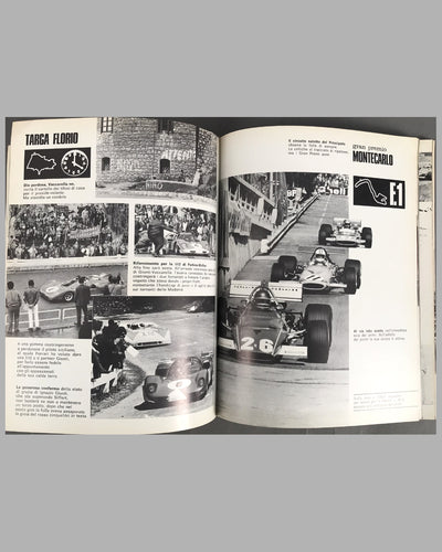 1968, 1969 & 1970 combined original Ferrari Yearbook