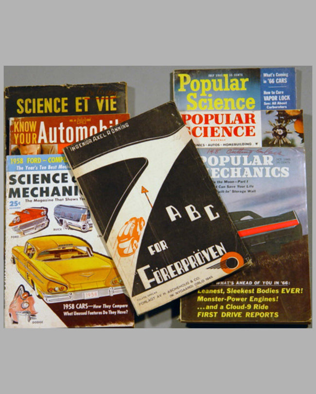 Seven Automotive Magazines