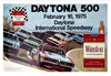 1975 Daytona 500 Original Event Poster