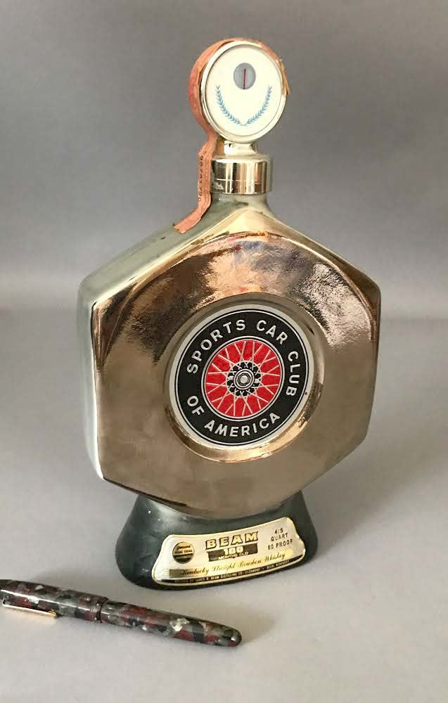 SCCA decanter by James Beam 1976 - $110.00