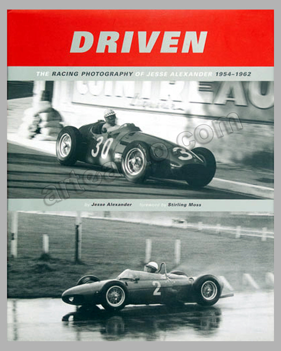 Driven - The Racing Photography of Jesse Alexander 1954-1962 book 1st ed., 2000